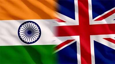 भारत- यूनाइटेड किंगडम वर्चुअल शिखर ...